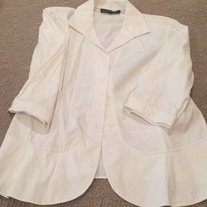 Lafayette white ladies blouse